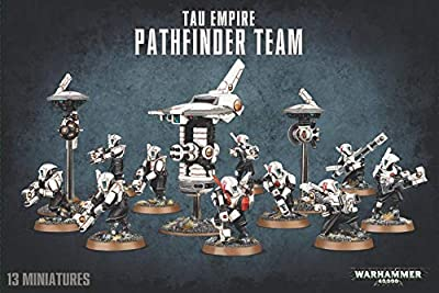 "Games Workshop 99120113061 Tau Empire Pathfinder Team - Warhammer 40,000"" Game by Games Workshop"