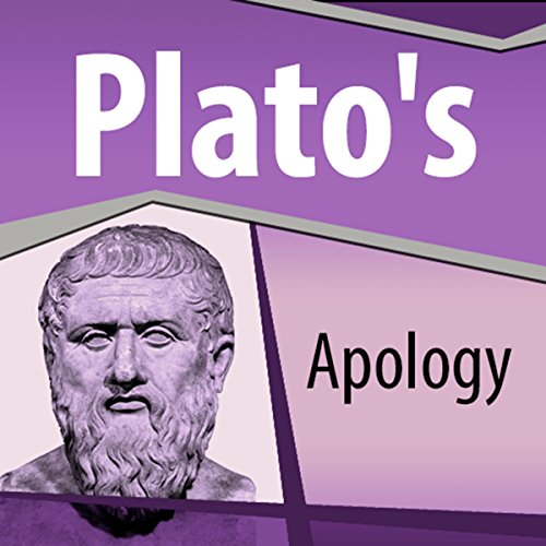 Plato's Apology audiobook cover art
