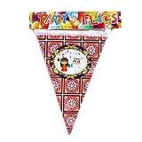 EID Mubarak Gagliardetto, catena per feste musulmane, decorazione per la stanza dei bambini, ghirlanda per feste di compleanno per bambini, decorazione per feste di luna e stelle, triangolo striscione