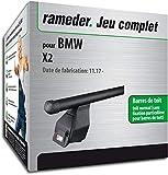 Rameder Pack Barres de Toit Tema pour BMW X2 (118786-38274-1-FR)