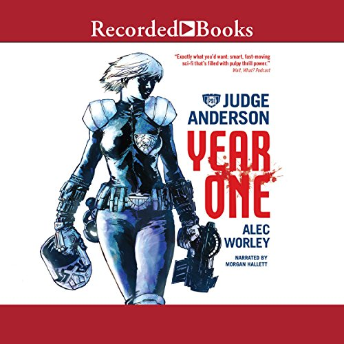 Judge Anderson audiobook cover art