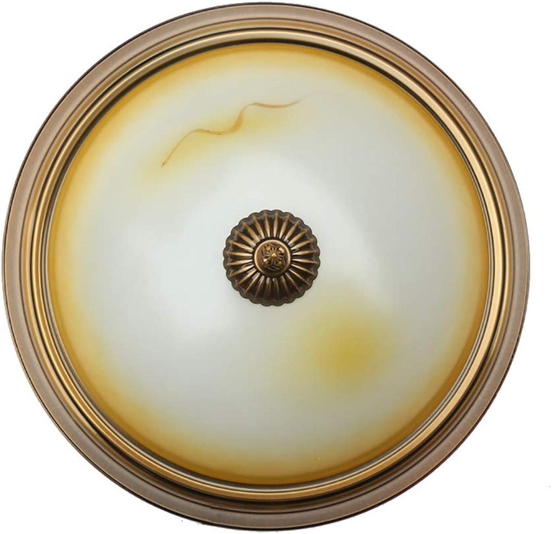 ZSSM LED Deckenleuchte rund Glas 3 Farblicht 24W Dimmbar handgefertigt Imitation Jade Indoor Leicht zu reinigen Unterputz Schlafzimmer Deckenleuchte