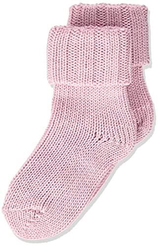 FALKE Unisex Baby Flausch B SO Socken, Rosa (Thulit 8663), 80-92