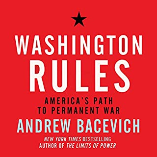 Washington Rules audiobook cover art
