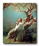Jesus Christus betend bei Getsemani Bild Kunstdruck Poster