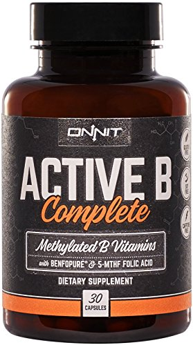 Onnit Labs, Active B Complete, 30 Count