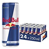Red Bull Energy Drink, 250 ml (24 Lattine)...
