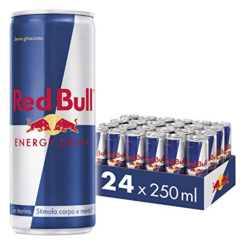 Red Bull Energy Drink, 250 ml (24 Lattine)