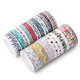 Mr. Pen- Washi Tape Set, 21 Pcs, Floral Washi Tape, Washi Tape, Bullet Journal Supplies, Decorative Tape, Cute Washi Tape, Washi Tape for Bible Journaling, Cute Tape, Bible Journaling Supplies