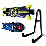 Grab & Go XL Horizontal Longboard Skateboard Wall Hanger Mount Rack