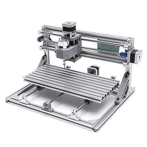 Liangcha-0401 3018 3 Axis MinDiskirt DIY CNC Router Touchstone Motor de husillo Máquina de Grabado de Madera Grabador de fresado