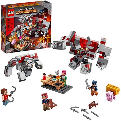 LEGO Minecraft The Redstone Battle 21163 Cool Minecraft Set for Kids Aged 8 and Up Great Birthday product image