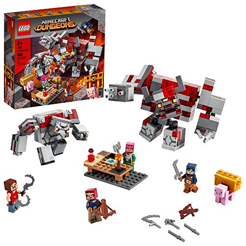 LEGO Minecraft The Redstone Battle 21163 Cool Minecraft Set for Kids Aged 8 and Up, Great Birthday...