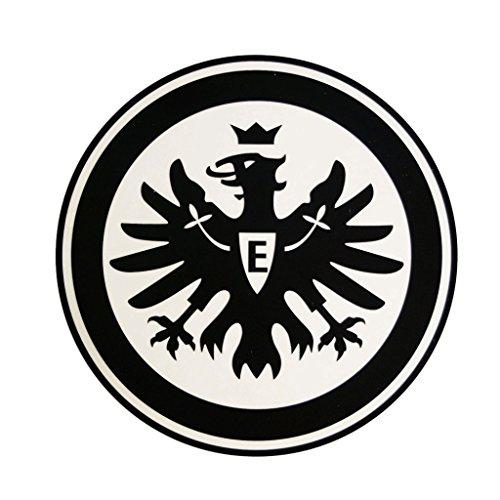 Eintracht Frankfurt Aufkleber, Sticker, Autoaufkleber Logo schwarz - Plus gratis Aufkleber Forever Frankfurt