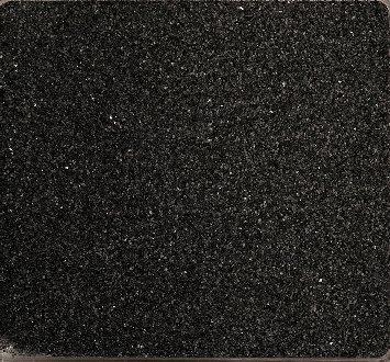 Farbsand, Dekosand farbig ca 0,5 mm. 1 KG in SCHWARZ -94