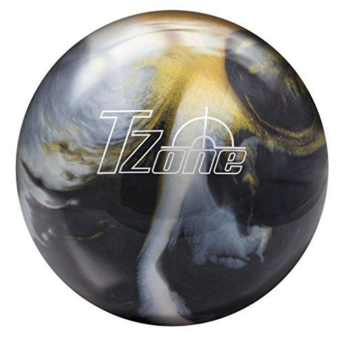 Brunswick T-Zone Glow Bowling Ball, Gold Envy, 6 lb