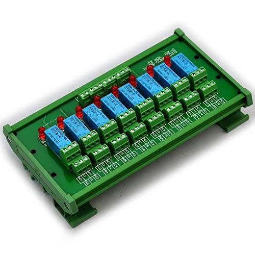 ELECTRONICS-SALON montaje en carril DIN 8 DPDT de relé del