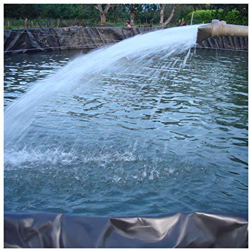 Teichfolie PVC Dichtungsfolie UV-Schutz Fischteich Liner Tuch Hause Garten Pool Verstärkt, Folienkleber für Teichfolien Landschaftsbau Pool Teich Liner, 0.3mm Mehrere (Color:0.3mm,Size:3x33ft/1x10m)