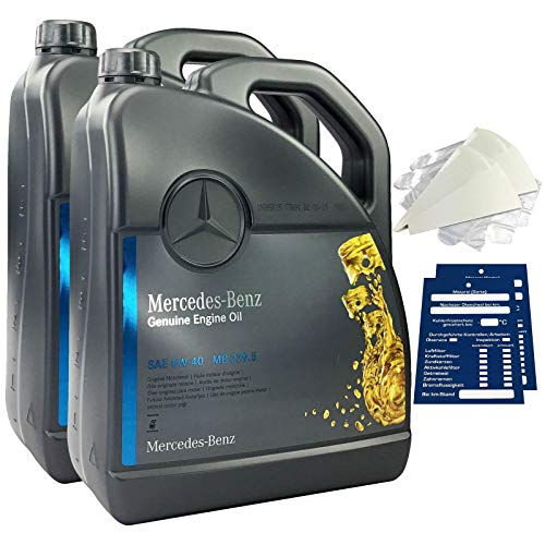 Mercedes-Benz - Aceite de motor original 5W-40 MB 229.5, 10 litros
