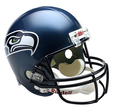 Riddell NFL Seattle Seahawks Deluxe Replica Football Helmet