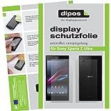 dipos I 4X Schutzfolie matt kompatibel mit Sony Xperia Z Ultra Folie Bildschirmschutzfolie