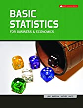 Basic Statistics for Business /& Economics with Connect with LearnSmart /& Smartbook PPK