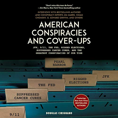 Couverture de American Conspiracies and Cover-Ups