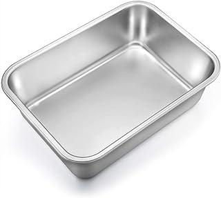 Stainless Steel 8.5 Inch Loaf Pan Happy Sales HSB-SSL1