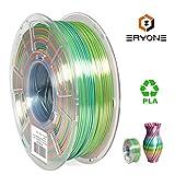 ERYONE Silk Rainbow PLA Filament 1.75mm, 3D Printer PLA Filament for 3D Printer