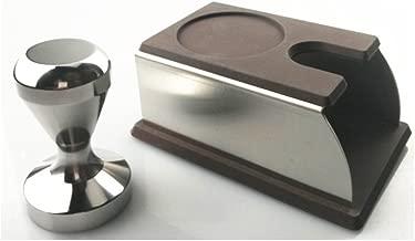 Chytaii Presse /à Caf/é Espresso Tamper Sabotage pour Machine /à Caf/é en Acier Inoxydable Surface Plate 51mm