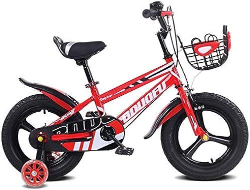 1-1 Kinder fürrad, Verstellbare H  Doppelbremse Rutschfest Sicherheit Jungs mädchen Kinder Draussen Radfüren Spielzeug 16 Zoll