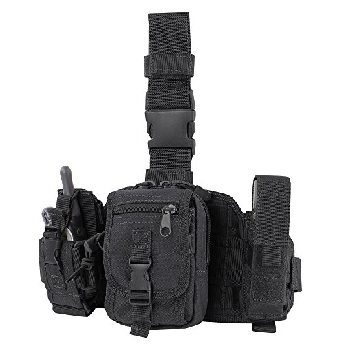 CONDOR MA25-002 Utility Leg Rig Black