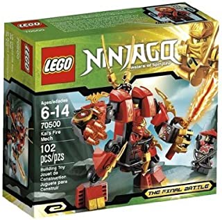 Game / Play LEGO Ninjago Kais Fire Mech 70500. Collectible, Plastic, Minifigure, Characters, Playset Toy / Child / Kid