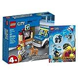 Lego 60241 - Juego de figuras de perro de policía (cubierta blanda), diseño de Lego City