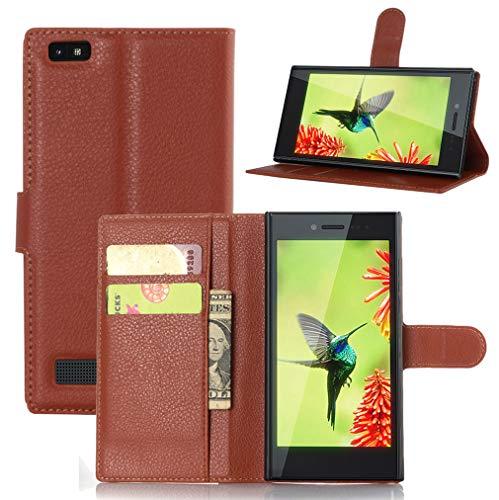 NEKOYA BlackBerry Leap Hülle,BlackBerry Leap Lederhülle,Handyhülle im Brieftasche-Stil für BlackBerry Leap.Schutzhülle mit [TPU Innenschale] [Standfunktion] [Kartenfach] [Magnetverschluss]