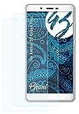 Bruni Schutzfolie kompatibel mit Archos 55 Cobalt Plus Folie, glasklare Bildschirmschutzfolie (2X)