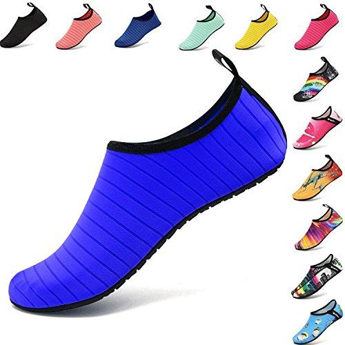 VIFUUR Water Sports Unisex/Kids Shoes Blue - 3.5-4 M US (34-35)