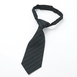 子供棒ネクタイ nkp 濃紺縞 中国製