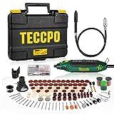 ឧបករណ៏ពហុមុខងារ TECCPO 10000-35000 RPM 135W ដោយមានគ្រឿងបន្សំ 114 ខួងខ្នាតតូចជាមួយល្បឿនអថេរ 5 ល្អបំផុតសំរាប់ឆ្លាក់កាត់ប៉ូលា TART11P