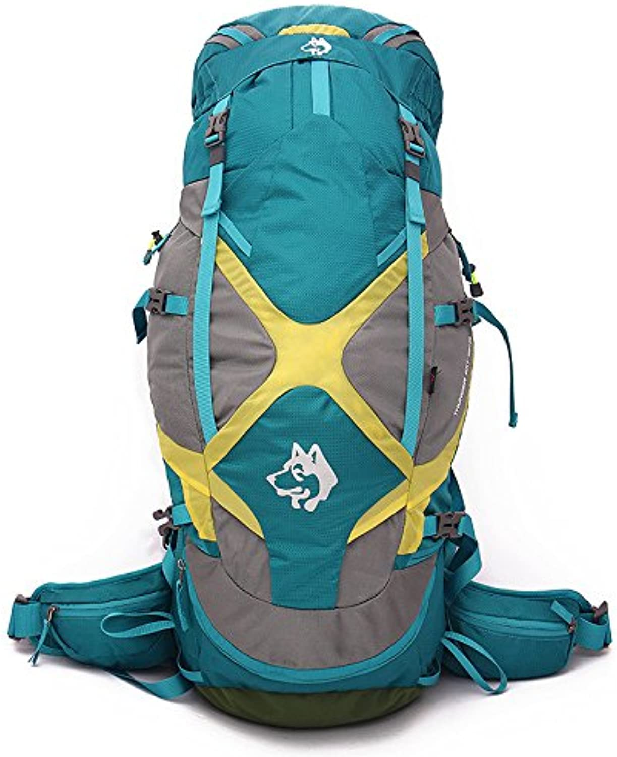 Hiking Backpack, 65L Water Repellent Camping Outdoor Trekking Daypack, for Mountaineering,Travel,Camping,Trekking