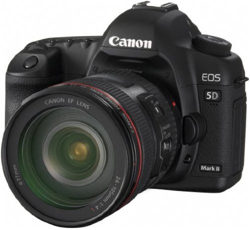Canon EOS 5D Mark II Fotocamera Digitale Reflex 21 Megapixel + Obiettivo EF 24-105mm L IS USM
