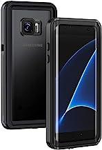 Lanhiem Samsung S7 Edge Case, IP68 Waterproof Dustproof Shockproof Case with Built-in..