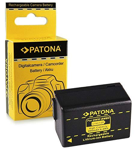 Batería Panasonic DMW-BMB9 E | Leica BP-DC9 E para Panasonic Lumix DMC-FZ40...