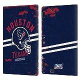 Head Case Designs Licenciado Oficialmente NFL Casco Distressed Look 100th Houston Texans Logo Art Ca...
