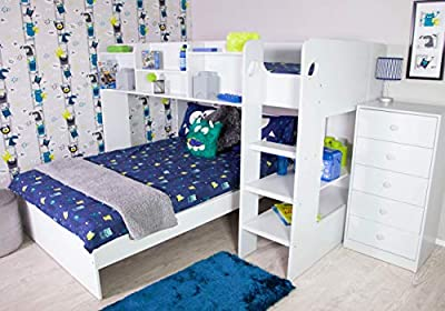 Flair Furnishings Wizard L Shaped Triple Sleeper