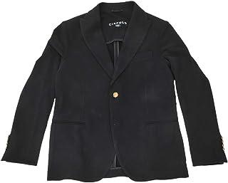 CIRCOLO 1901 (チルコロ) シングルジャケット メンズ ジャージジャケット ブラック 黒 正規取扱店