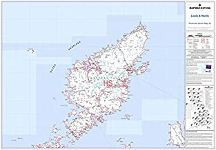 Lewis and Harris (Map Marketing Postcode Sector Map)