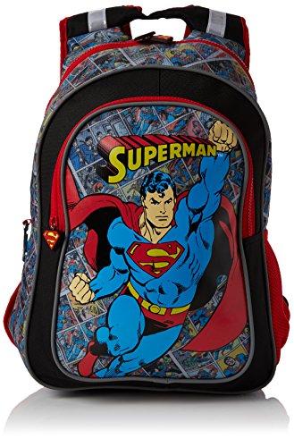 BB DesignsSuperman Junior BackpackUnisex NiñosMochilasRojo (Red)37x43x15 Centimeters (W x H x L)