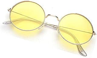 Phenomenal Round Unisex Sunglasses (Yellow)