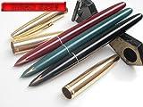 Success Stationery™ Hero Pen 329 Model Fountain Pen Iridium Nib Gold Cap Black